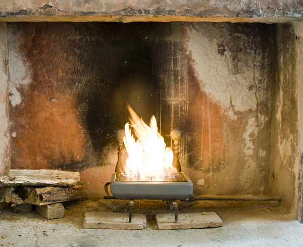 diy of a ventless gas fireplace
