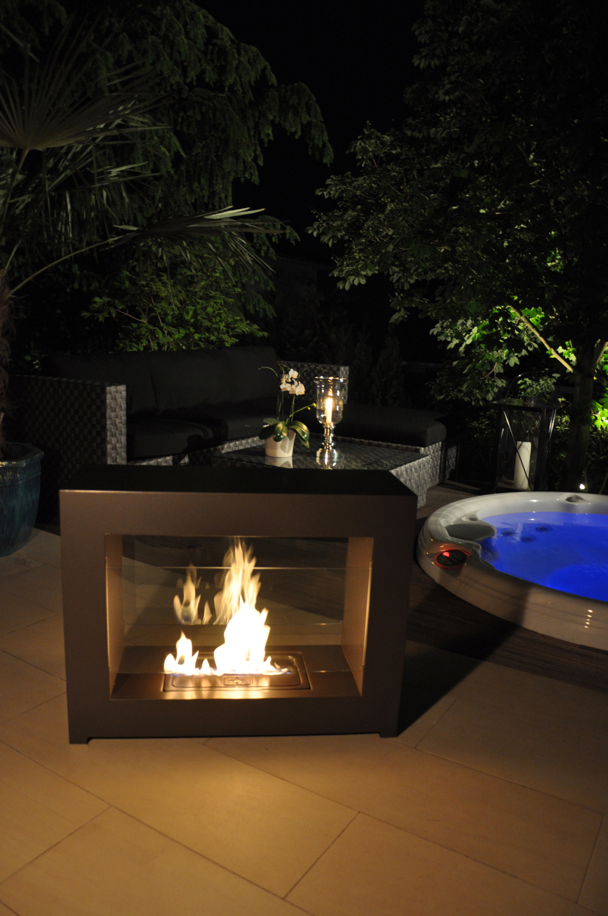 know your exterior lighting part 2 the brasa fireplace