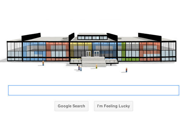 Google Doodle's Salute to Ludwig Mies van der Rohe