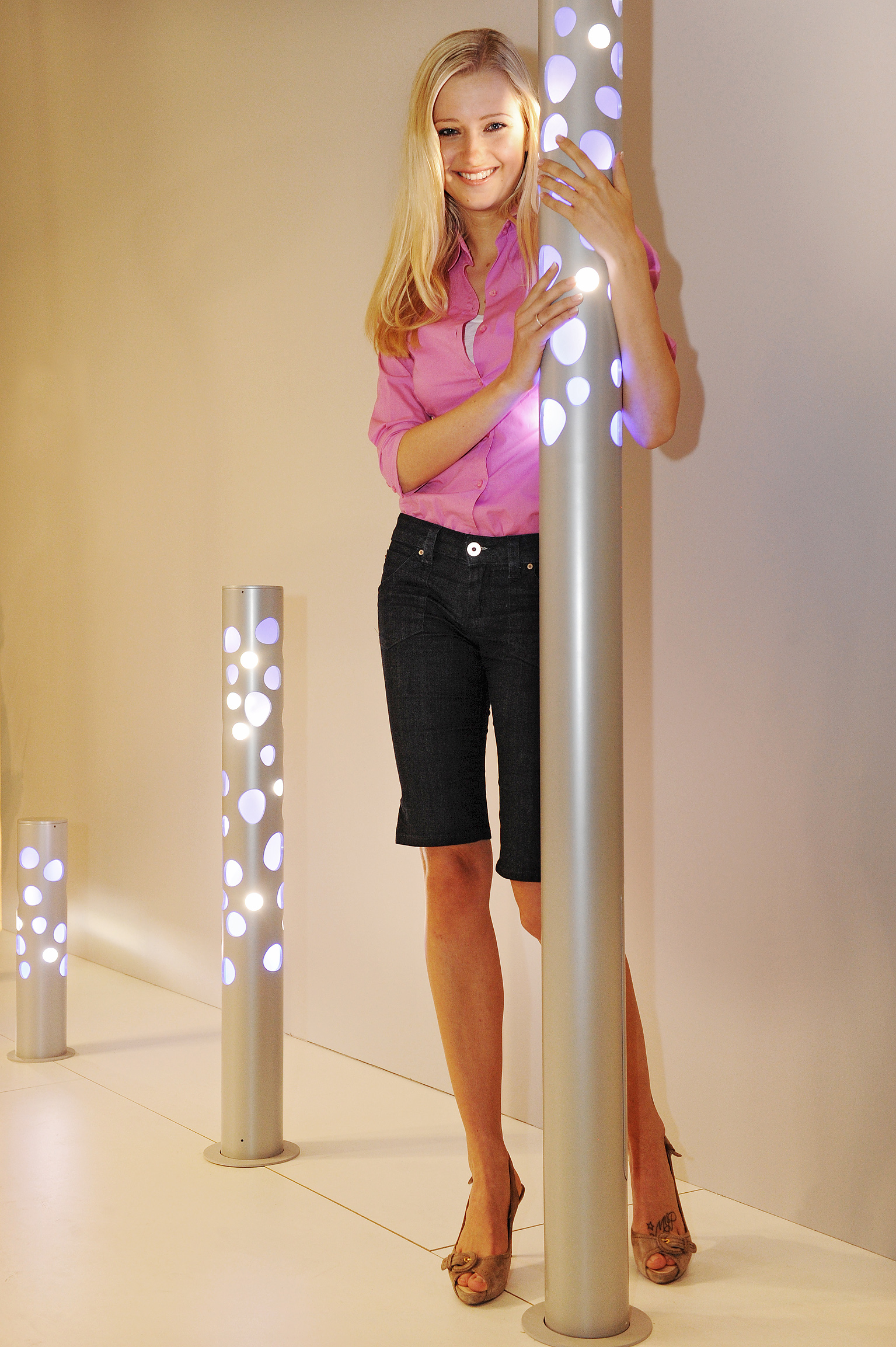 Urban Lighting Featuring External Lights For Public Space