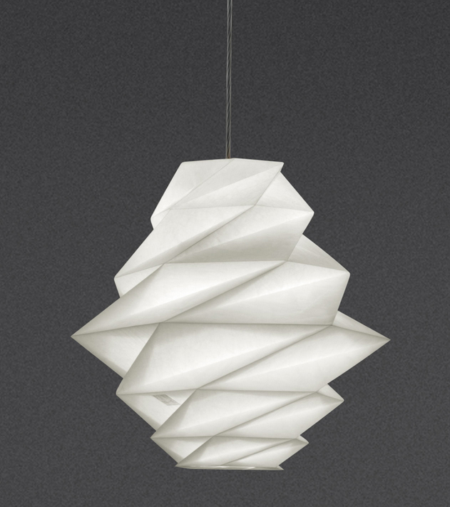 Artemide s new origami influenced lighting collection by for Artemide issey miyake