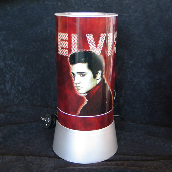 Elvis Presley The Legend Lives On In A Table Lamp