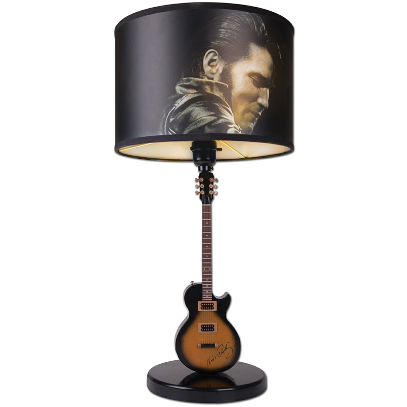 Elvis presley the legend lives on in a table lamp lightopias elvis presley the legend lives on in a table lamp aloadofball Images