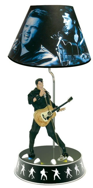 Elvis Presley Animated Lamp