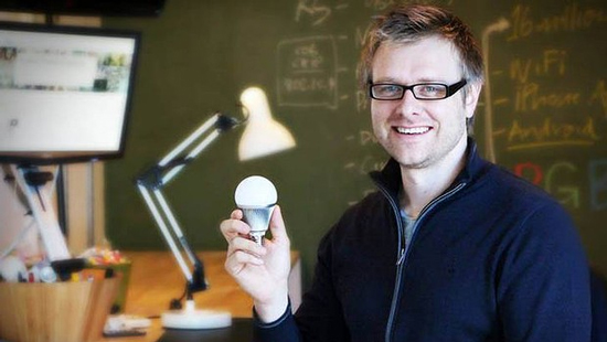 Reinventing the Light Bulb with Smartphone Controls and the Help of Kickstarter