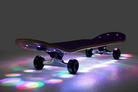 Ready, Set, Launch the Rad Skateboard Lamps