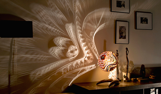Calabarte Gourd Lamps Create An Exotic Lighting Experience