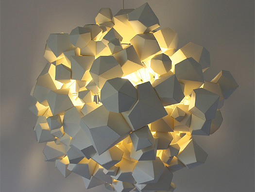The Naci Light S Organic Clusters Of Geometric Shapes Lightopia S Blog The Latest In Lighting And Interior Design