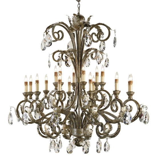 how to clean a chandelier