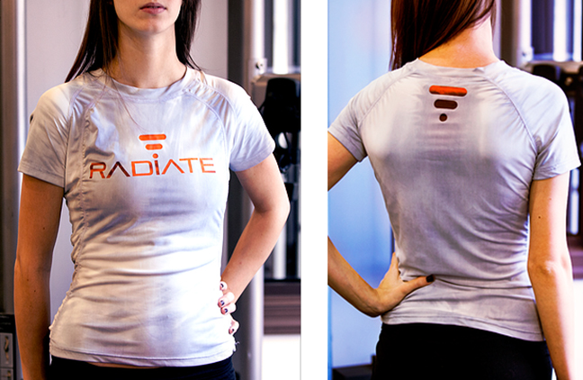 Futuristic Workout with the Color Changing Radiate Shirt | Lightopia's Blog | The latest in ...