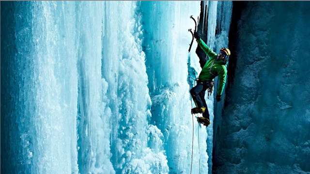 Ice Nights: Ice Climbing at Night with Lights - Lightopia's Blog | The latest in Lighting and ...