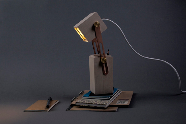 Caroline Olsson's Pencil Light: Store & Write