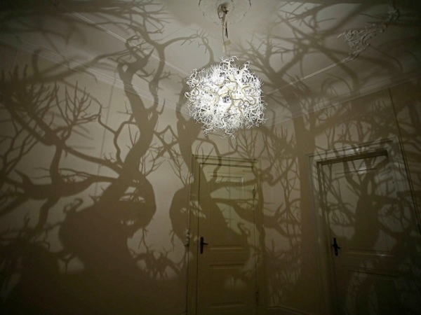 Hilden & Diaz Forms in Nature Chandelier