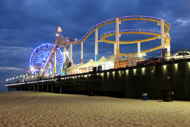 Santa Monica Pier Gets an LED Makeover