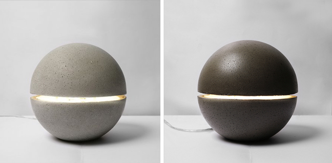 the gayalux lamp a levitating concrete table lamp   3
