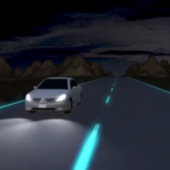Studio Roosegaarde's Glow-in-the-Dark Road