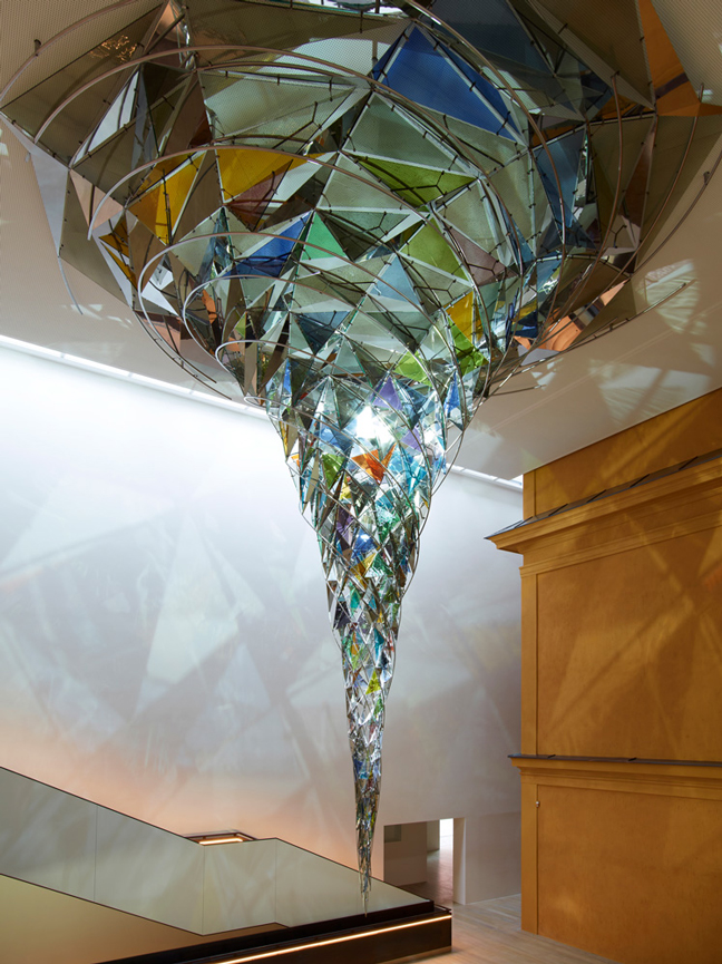 Olafur Eliasson's Breathtaking Wirbelwerk Glass & Light Exhibit