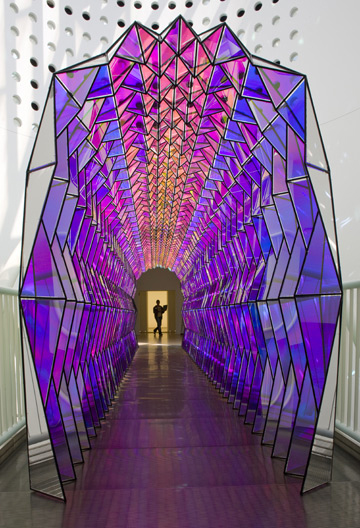The One Way Color Tunnel by Olafur Eliasson | Lightopia's ... Olafur Eliasson One Way Colour Tunnel