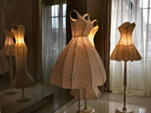 Maison moschino hotel floor lamps made from dresses lightopias maison moschino hotel floor lamps made from dresses aloadofball Image collections