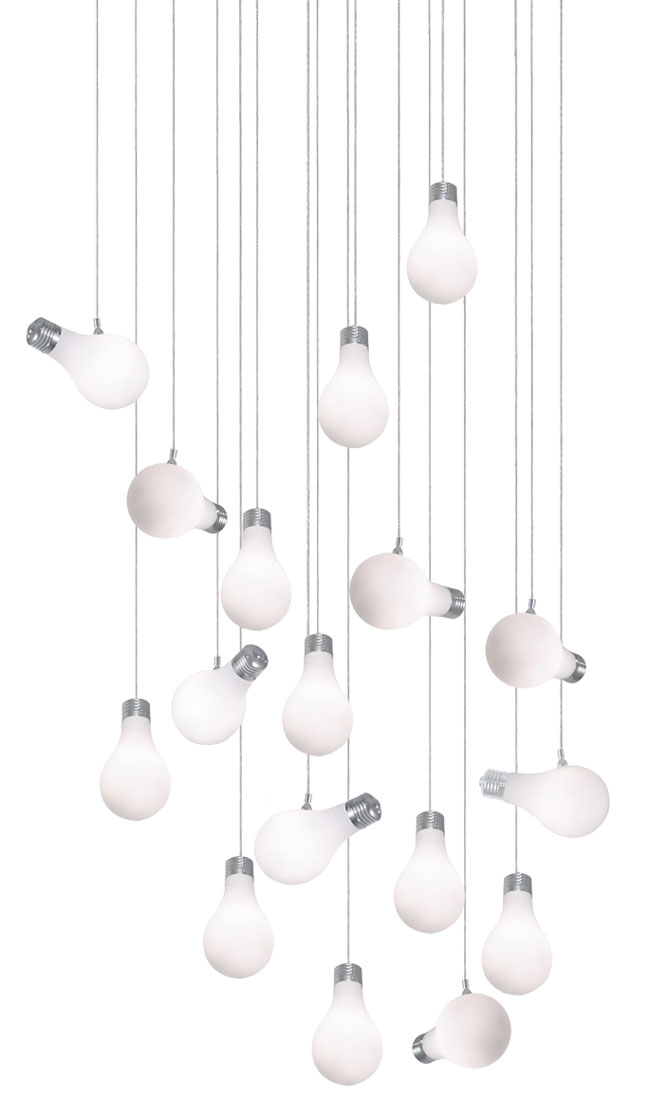 Edge Lighting's Bright Idea Pendant: An Incandescent Dream