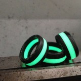 Black Badger's Glowing Isotope Light Ring
