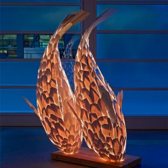 Fish Lamps by Frank Gehry