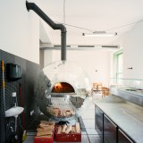 Rotating Disco Ball Pizza Oven