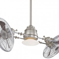The Vintage Gyro Ceiling Fan by Minka Aire