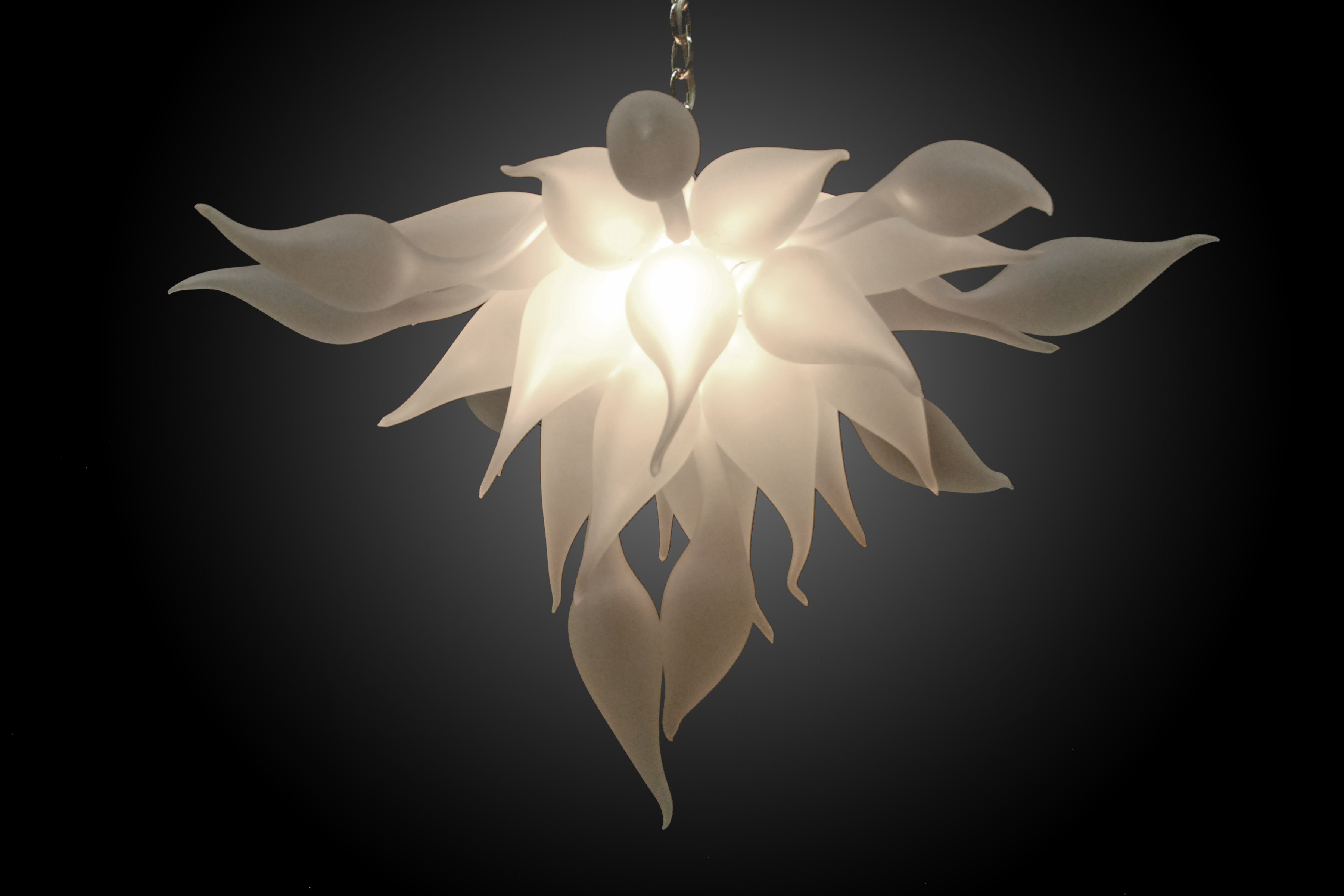 Bella Fiore 154 Hand Blown Glass Chandelier By Seth Parks Glass